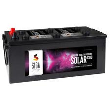 SIGA Solarbatterie 180Ah 12V Marine Solar Antrieb Beleuchtung Batterie Akku
