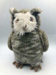 The Making Of Harry Potter Errol Great Grey Owl Plush Stuffed Toy Animal Bird