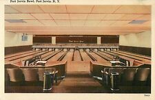 Interior View of the Lanes, Port Jervis Bowl, Port Jervis Ny