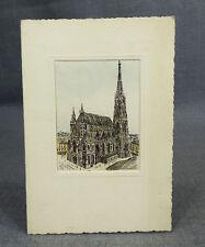 Original-Radierungen (1950-1999) aus Österreich