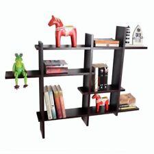 Librerías y estanterías estantes color principal negro para el salón