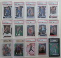 30 RANDOM TEAM NBA HOT CASE LIVE BREAK LUKA TRAE ZION JA PRIZM ROOKIE PSA GEM 10