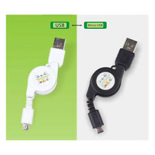 Retractable USB Sync&Charger Cable for HTC Mobile iPhone X 4 /4s/5/5s/6/7 8 PLUS