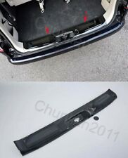 Rear Bumper Protector door Sill Plate Cover Trim For Nissan NV200 Black inner 1p