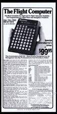 1976 Commodore NAV 60 calculator flight computer photo vintage print ad