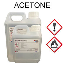 ACETONE 1L - 5L  99.8% PURITY | Lab Grade Quality 1 - 5 Litre  Container OPTIONS