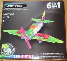Mustang Zippy Do Laser Pegs Lighted Construction Building Toy ZD160B
