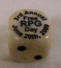 Free RPG Day June 20th 2009 3rd Annual Würfel cube selten rar Rollenspiel