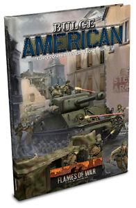 PREORDER Flames of War Late War USA American Bulge Rule Book (FW270)