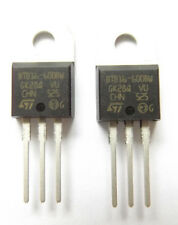BTB16-600BW  TRIAC 600V 16A 50ma Snubberless Non insulated 3-Pin TO-220AB x2pcs