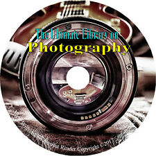 195 Books on DVD, Ultimate Vintage Library on Photography, History Camera How to