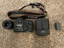 Canon EOS 20D DSLR Camera w/EF-S 18-55mm Lens and extras-Black-✅WORKS PERFECTLY✅