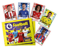 2019 2020 PANINI English Premier League Soccer Sticker Collection x 10 Packs