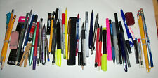 New listing Drawer Lot Of Misc Pens, Pencils, Mechanical Pencils And Leads & Other Items