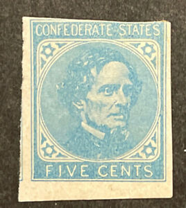 TDStamps: US Confederate States CSA Stamps Scott#6 Mint H OG