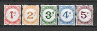 S23400) Tristan da Cuna 1957 MNH QEII Postage Two 5v