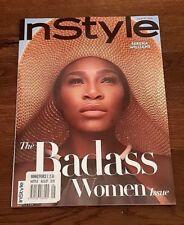 New Rare InStyle USA Magazine August 2018 Serena Williams Helena Christensen