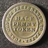 Canada 1813 Half Penny Token Un Sou NS-21A4 / Breton 965 / J-030