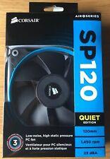 Corsair PC Fan SP120 Quiet Edition 120mm 1450 RPM 23dBA 48-000319 REV AA