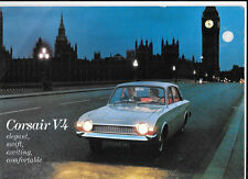 FORD CORSAIR V4 DE LUXE,2000 e,2000 DE LUXE & estate le vendite di automobili opuscolo giugno 1971