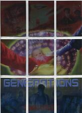 Smallville Season 3 Complete Generations Chase Card Set G1-9