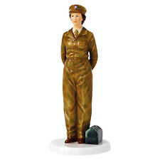 Royal Doulton Her Majesty Queen Elizabeth II Army Days Figurine HN5806