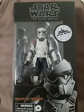 "Star Wars Black Series Mountain Trooper Galaxy Edge Exclusive 6"" In Hand"