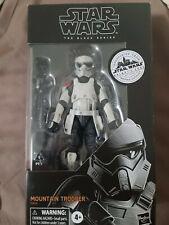 "Star Wars Black Series Mountain Trooper Galaxy Edge Exclusive 6"" In Hand"