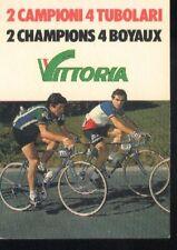 BERNARD HINAULT FRANCESCO MOSER cp Cyclisme ciclismo 70 postcard cartolina vélo