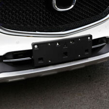 For Mazda CX-8 CX8 2017-2020 ABS Car Front Bottom Grille Cover Trim 2PCS