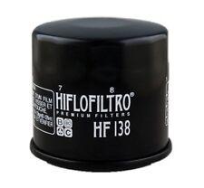 Hiflo Hf138?filtre a huile Bike Alert Plc Hiflofiltro Automotive