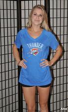 Oklahoma City Thunder NBA Basketball T Shirt - Blue - adidas - women's 2XL