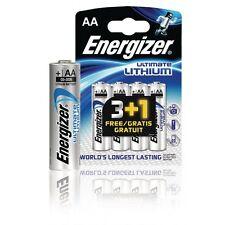Energizer 4 Stück Ultrta Premium Lithium Batterie AA 1.5 V LR6 Mignon Batterien