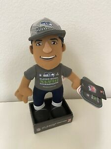 Russell Wilson Seattle Seahawks NFL Super Bowl Champs Bleacher Creatures NWT