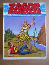ZAGOR Raccolta n°21 Edizione Bonelli    [G363]