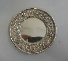 Tiffany & Co. Sterling Repousse Butter Plate / Pin Tray - Model Number 3958