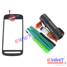 Replacement LCD Touch Screen Glass Part + UV Glue for Nokia 808 PureView ZVLT445