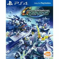 PS4 SD Gundam G Generation Genesis (Asian English) ASIA EXCLUSIVE | BRAND NEW