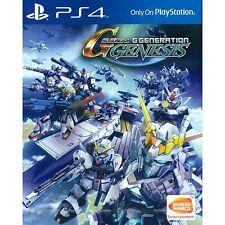 PS4 SD Gundam G Generation Genesis (Asian English) ASIA EXCLUSIVE | BRAND NEW