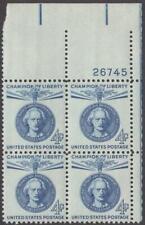 Scott # 1159 - Us Plate Block Of 4 - Ignacy Paderewski - Mnh - 1960