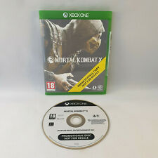 Xbox One - Mortal Kombat X Promotional Copy Not for Resale NFR