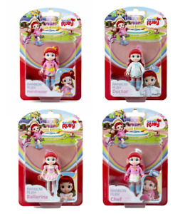 Rainbow Ruby Doll Figure Chef Doctor Hairdresser Doctor - Choose or CHEAP BUNDLE