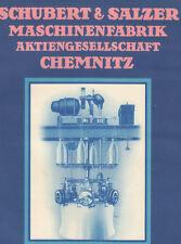 Schubert & Salzer AG Chemnitz Sachsen histor Aktie 1932 Rieter Ingolstadt Bayern