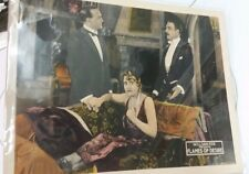 1924 Flames of Desire Lobby Card by William Fox