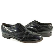 Florsheim Black Leather Harvard Wingtip Dress Shoe Mens Size 10 C 20330