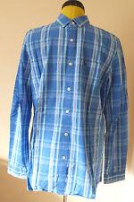 BNWT Jack Wills Blue Check Shirt. Long Sleeve. Size M. RRP £59