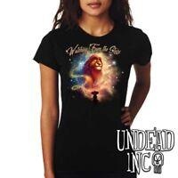 "Disney Lion King Mufasa Simba ""Watching from the Stars"" - Ladies T Shirt"