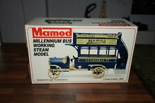 MAMOD STEAM millennium bus MB1 NEVER FIRED BOXED Ltd Ed. No.120/250.