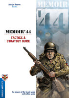 MEMOIR 44 TACTICS AND STRATEGY GUIDE - BOARD GAME - BRAND NEW