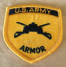 United States U.S. Army Armor Hat Patch New Never Applied